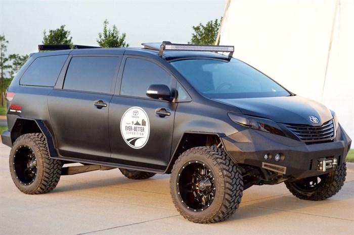 Toyota Sienna Offroad