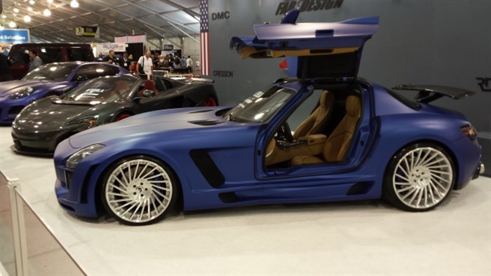 Gull Wing Door Two Seater