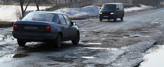 Potholes in Ottawa
