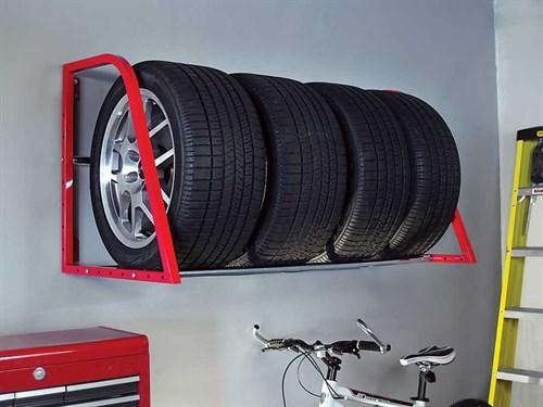 Garage Tire Rack