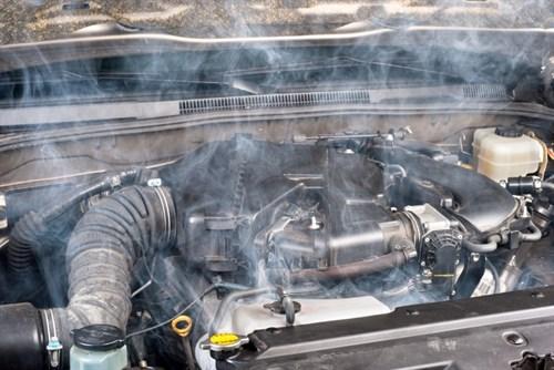 Car Engine Overheating